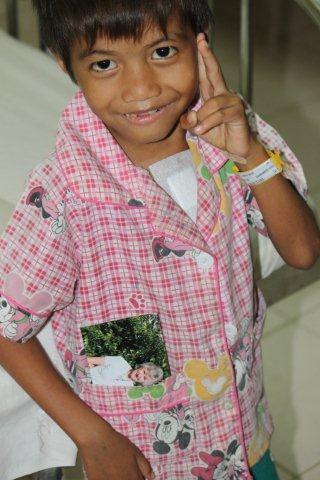 Cambodian heart patient