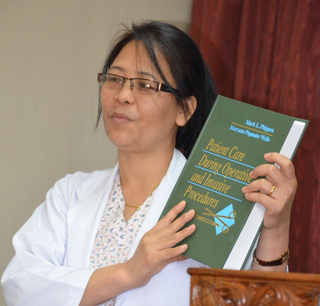 text books for nurse training in Nepal