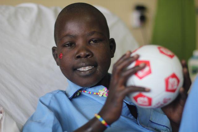 Rwandan cardiac patient Alice