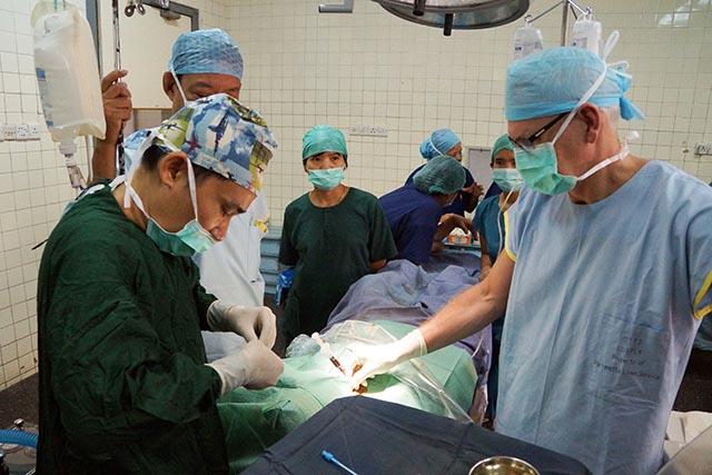 cvc insertion Yangon, Myanmar