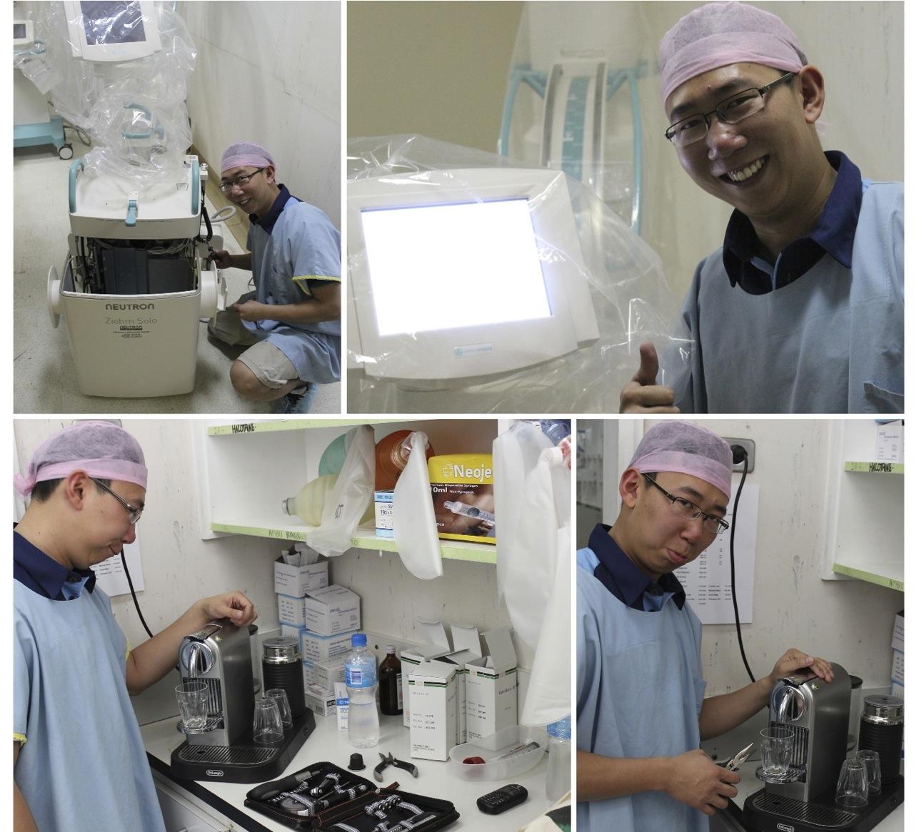 Biomedical Engineer in PNG, new member Frankie