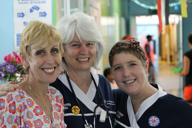 Open Heart International nurses in PNG