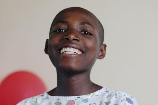 Rwandan cardiac patient Marie Grace