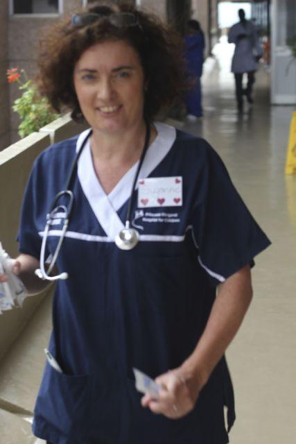 Suzanne in Rwanda